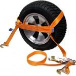 Zurrgurt Orange für Reifensicherung (seitlich) 35 mm